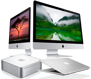 Ремонт  MacBook, iMac, Mac Mini